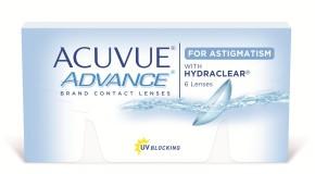 Wszystko o Acuvue Advance dla astygmatyków