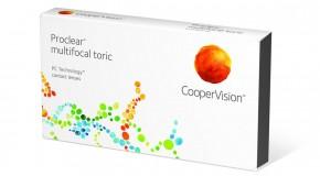 Wieloogniskowe soczewki kontaktowe Proclear Toric Multifocal